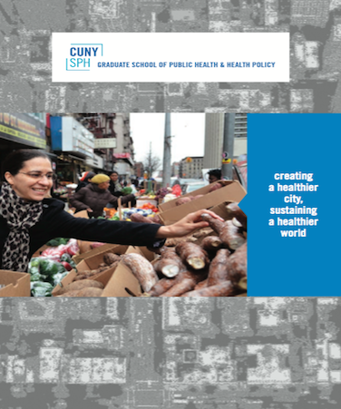 Cover of CUNY SPH 2017 admissions brochure