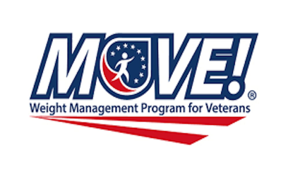 Logo for MOVE! Weight Management Program for Veterans