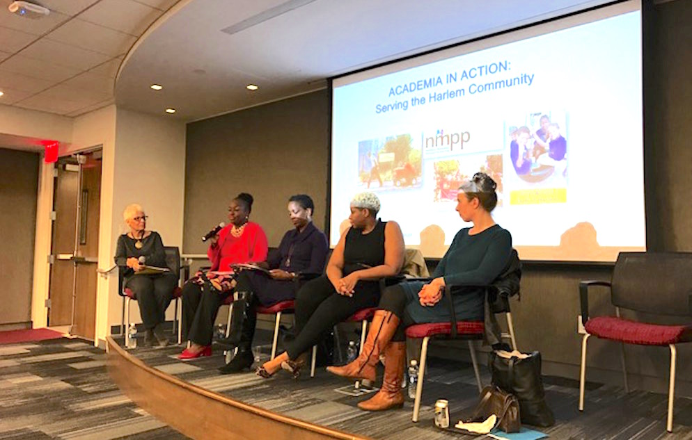 Academia in Action panel 1