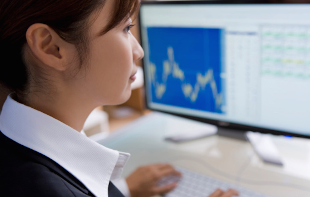 Profile image of businesswoman working in office