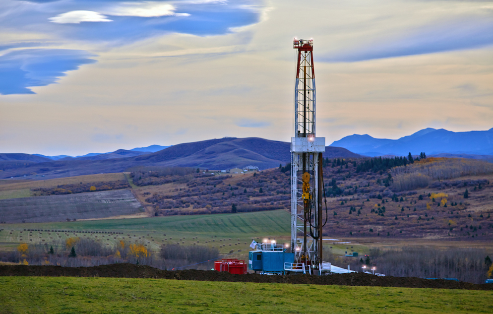 Oil and gas drilling rig