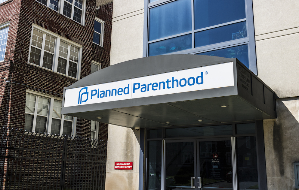 Photo of a Planned Parenthood clinic