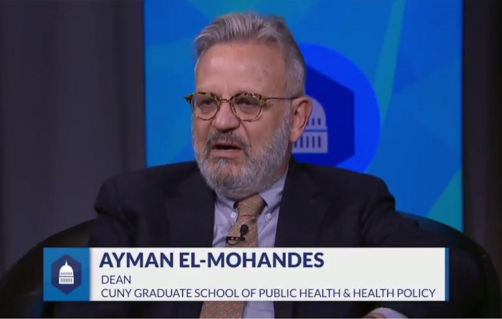 Ayman El-Mohandes CUNY TV still