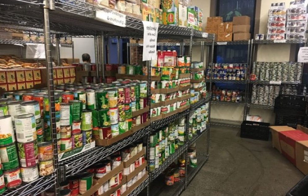 Bronx food pantry