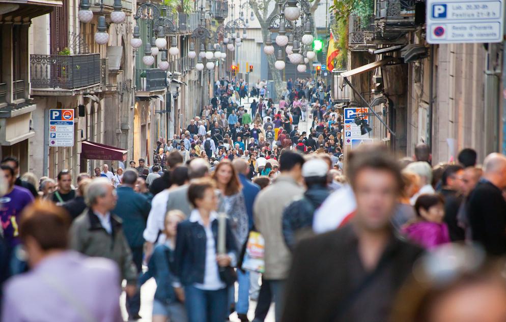 Carrer Ferran, Barcelona, Spain