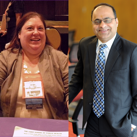 Drs Ann Gaba and Ashish Joshi