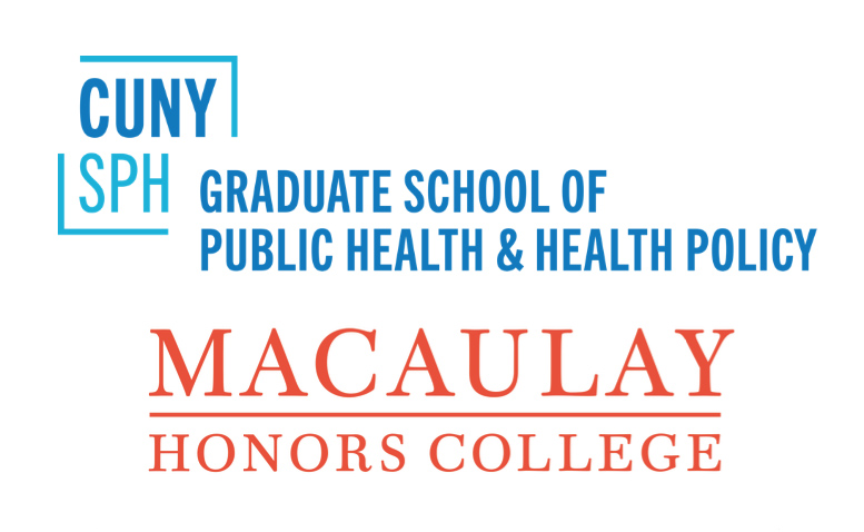 CUNY SPH and Macaulay logos