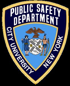 CUNY public safety logo