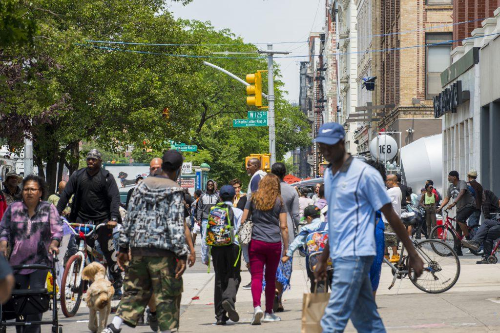 Harlem NYC 125th Street