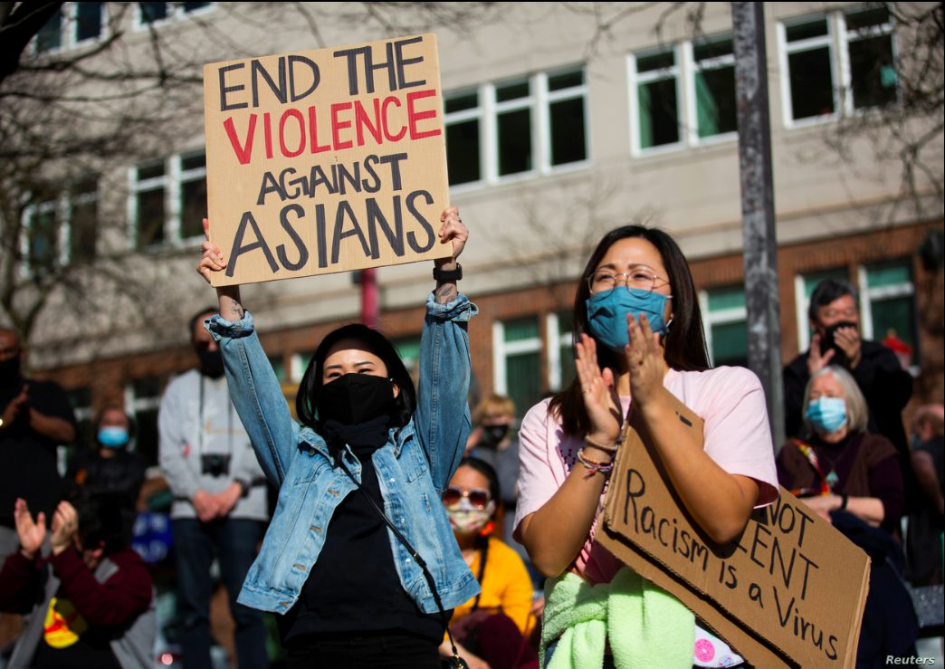 AAPI rally in Seattle_photo by Reuters