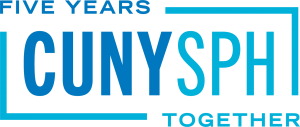 CUNY SPH Fiver Years Together long brick logo