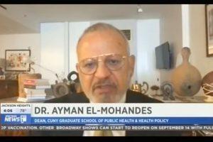 Dean Ayman El-Mohandes on NY1